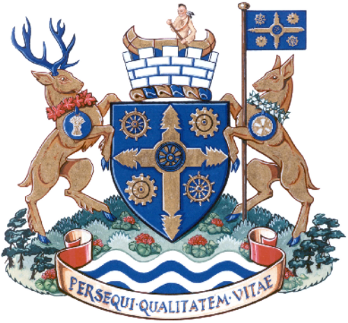 File:Coat of arms of Midland, Ontario.png