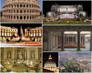 Collage Romerestored