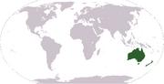 Location Oceania