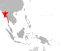 New Burma Map