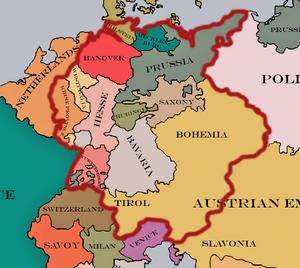 German confederation (Borgo)