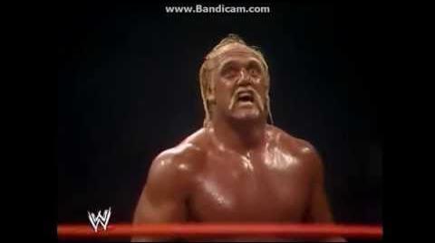 Hulk Hogan Body Slams Andre The Giant