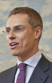Alexander Stubb on February 11, 2011
