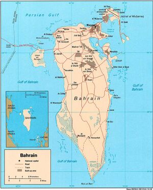 1983DD Bahrain Map