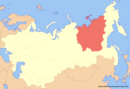 Location of Yakutia (New Union)