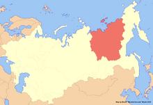 Location of Yakutia (New Union)