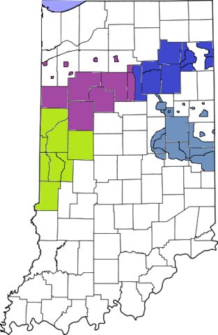 File:391px-Map of Indiana8 highlighting Lake County.png