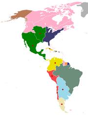 Americas, 1820 (No Napoleon)