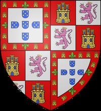COA king Nuno I of Portugal PMII