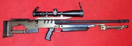 Scandinavian Sniper rifle