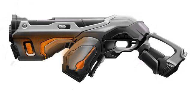 File:Ic sub machine gun military gun set sniper assault rifle machinegun firearm fn p90 blaster laser las-rifle alien mech final3 Concept Weapon by westonboege.jpg