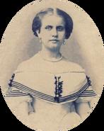 Princess Leopoldina around 1864 oval