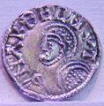 Coin danish and english king Harthacnut, Hardeknut (1018-1042).jpg