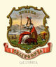 California state coat of arms (illustrated, 1876)