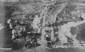 Bombardment of surbaya