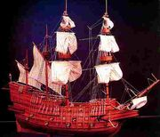 Welsh Galleon LPM Y Ddraig Aur 1530's