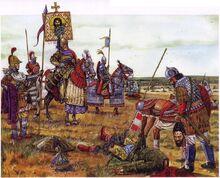 Emperor Leo III War