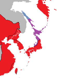 Location of East Japan (Nuclear Apocalypse)