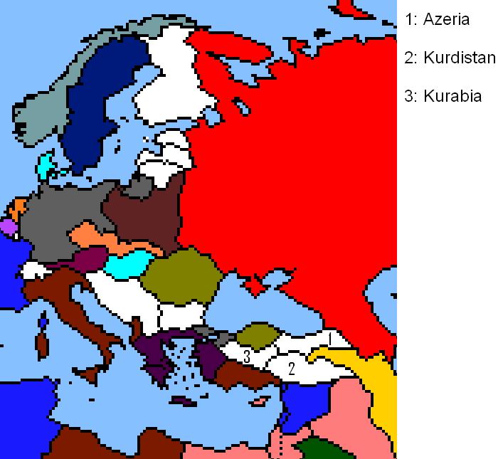 Post Turkish Map