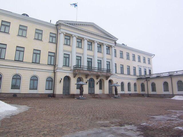 File:フィンランドの大統領府.jpg