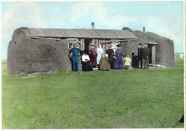 File:Saskatchewan sod house.jpg