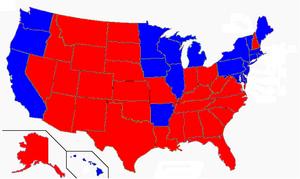 Clinton vs. Bush 2000