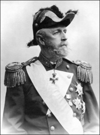 King Oscar II of Sweden