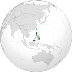 Land Area of the FDR Philippines