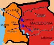 Albanian invasion