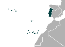 Location of Portugal (SM 3rd Power)