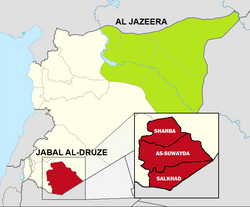 Map of Jabal al-Druze in Syria.png