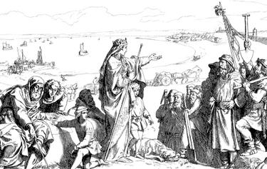Founding of Isafjordhur (The Kalmar Union)