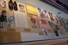 File:Mementos of Hillary Rodham's early life are shown at the William J. Clinton Presidential Center..jpg