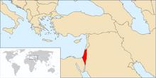 Mandate of Palestine (TNE)