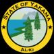 Seal of Yakama (1861 HF)