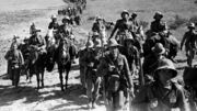 Italian soldiers in Abyssinia 1935