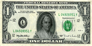 One dollar (women rule the world)