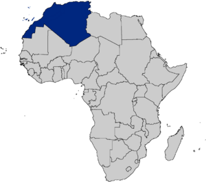 African french territory (REA)