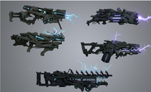 Rasheen Energy Weaponry