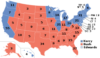 2004 election results changed