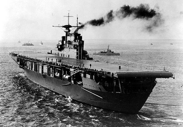 File:USS Hornet after completion, 1941.png