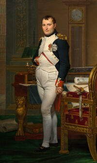 Jacques-Louis David - The Emperor Napoleon in His Study at the Tuileries - Google Art Project