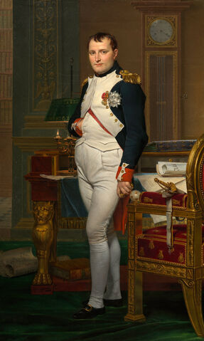 File:Jacques-Louis David - The Emperor Napoleon in His Study at the Tuileries - Google Art Project.jpg
