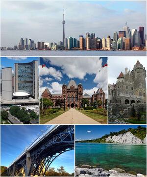 Montage of Toronto 7