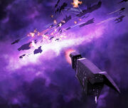Space battle in purple by deepchrome-d303hv8