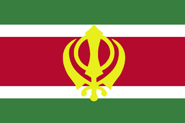 File:Flag of Suriname (Ranjit Singh Lives).png