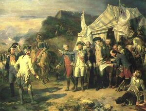 Washington Before French Generals
