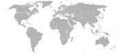 Daehan world map