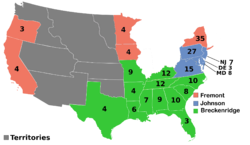 U.S. Presidential Election 1864 (Election of 1860)
