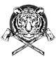 Tiger-and-axes-vector-695950